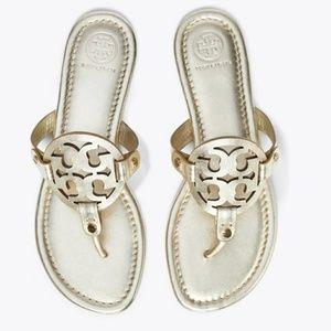 Tory Burch Spark Gold Miller Sandal